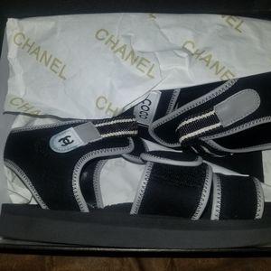 Coco Chanel Velcro Sandals | Poshmark
